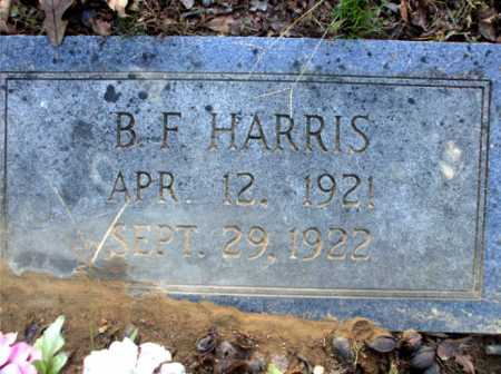 HARRIS, B.F. - Poinsett County, Arkansas | B.F. HARRIS - Arkansas Gravestone Photos