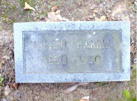 HARRIS, INFANT - Poinsett County, Arkansas | INFANT HARRIS - Arkansas Gravestone Photos