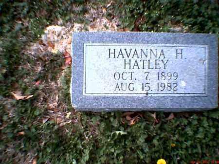 HARBOR HATLEY, HAVANNA - Poinsett County, Arkansas | HAVANNA HARBOR HATLEY - Arkansas Gravestone Photos