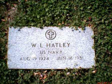HATLEY (VETERAN), WILBUR LEE 'BUD' - Poinsett County, Arkansas   WILBUR LEE 'BUD' HATLEY (VETERAN) - Arkansas Gravestone Photos