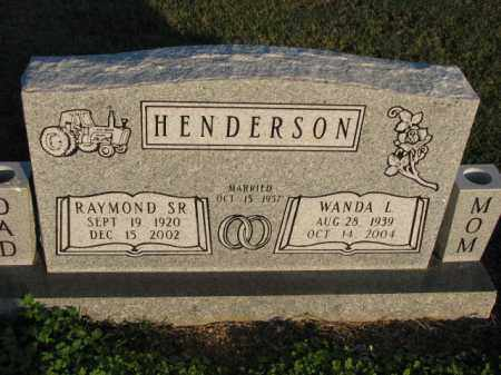 HENDERSON, SR., RAYMOND - Poinsett County, Arkansas | RAYMOND HENDERSON, SR. - Arkansas Gravestone Photos
