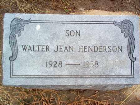 HENDERSON, WALTER JEAN - Poinsett County, Arkansas   WALTER JEAN HENDERSON - Arkansas Gravestone Photos
