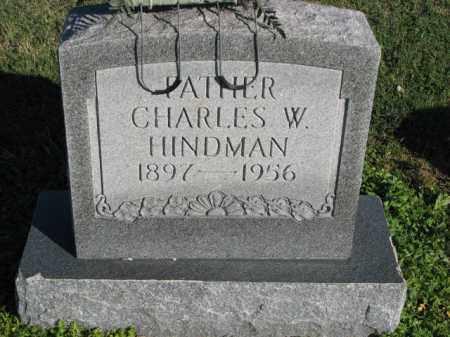HINDMAN, CHARLES W. - Poinsett County, Arkansas | CHARLES W. HINDMAN - Arkansas Gravestone Photos