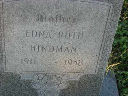 HINDMAN, EDNA RUTH - Poinsett County, Arkansas | EDNA RUTH HINDMAN - Arkansas Gravestone Photos