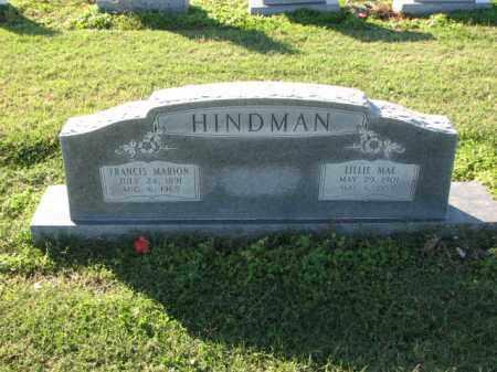 HINDMAN, LILLIE MAE - Poinsett County, Arkansas   LILLIE MAE HINDMAN - Arkansas Gravestone Photos