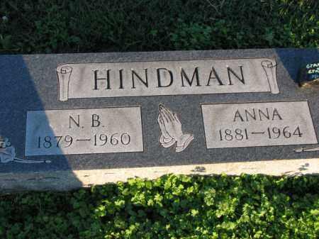 HINDMAN, N.B. - Poinsett County, Arkansas   N.B. HINDMAN - Arkansas Gravestone Photos