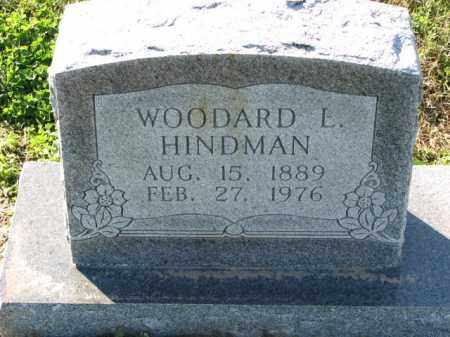 HINDMAN, WOODARD L. - Poinsett County, Arkansas   WOODARD L. HINDMAN - Arkansas Gravestone Photos