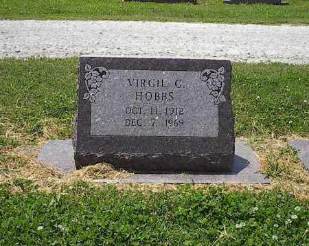 HOBBS (VETERAN WWII), VIRGIL C - Poinsett County, Arkansas | VIRGIL C HOBBS (VETERAN WWII) - Arkansas Gravestone Photos