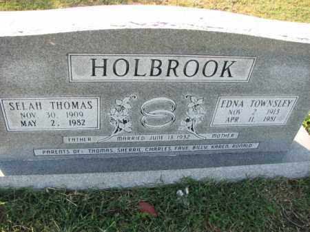 HOLBROOK, EDNA - Poinsett County, Arkansas | EDNA HOLBROOK - Arkansas Gravestone Photos