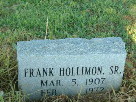 HOLLIMON, SR, FRANK - Poinsett County, Arkansas | FRANK HOLLIMON, SR - Arkansas Gravestone Photos