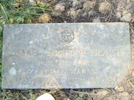HOUSE  (VETERAN WWII), JAMES ARTHUR - Poinsett County, Arkansas | JAMES ARTHUR HOUSE  (VETERAN WWII) - Arkansas Gravestone Photos