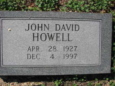HOWELL, JOHN DAVID - Poinsett County, Arkansas | JOHN DAVID HOWELL - Arkansas Gravestone Photos