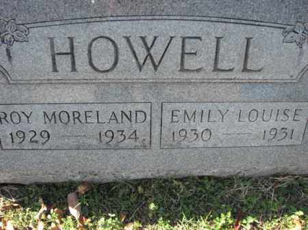 HOWELL, EMILY LOUISE - Poinsett County, Arkansas | EMILY LOUISE HOWELL - Arkansas Gravestone Photos