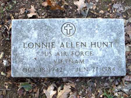 HUNT  (VETERAN VIET), LONNIE ALLEN - Poinsett County, Arkansas | LONNIE ALLEN HUNT  (VETERAN VIET) - Arkansas Gravestone Photos