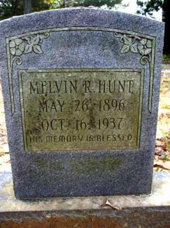 HUNT, MELVIN R. - Poinsett County, Arkansas | MELVIN R. HUNT - Arkansas Gravestone Photos