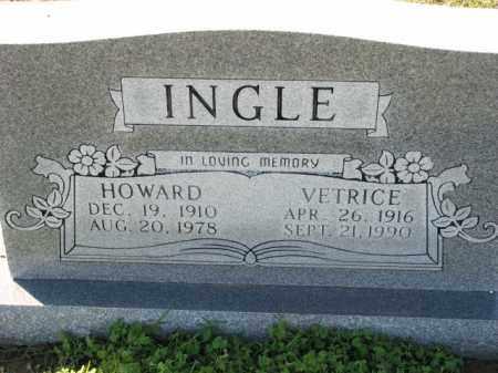 INGLE, VETRICE - Poinsett County, Arkansas   VETRICE INGLE - Arkansas Gravestone Photos