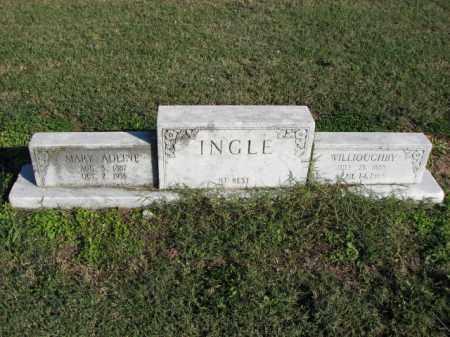 INGLE, WILLOUGHBY - Poinsett County, Arkansas | WILLOUGHBY INGLE - Arkansas Gravestone Photos