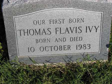 IVY, THOMAS FLAVIS - Poinsett County, Arkansas | THOMAS FLAVIS IVY - Arkansas Gravestone Photos