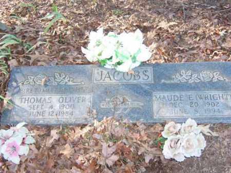 JACOBS, MAUDE E. - Poinsett County, Arkansas | MAUDE E. JACOBS - Arkansas Gravestone Photos