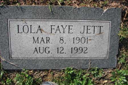 JETT, LOLA FAYE - Poinsett County, Arkansas | LOLA FAYE JETT - Arkansas Gravestone Photos