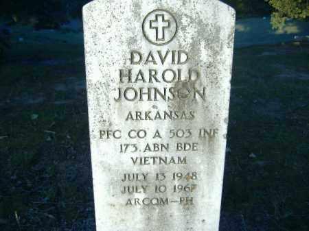 JOHNSON  (VETERAN VIET, KIA), DAVID HAROLD - Poinsett County, Arkansas   DAVID HAROLD JOHNSON  (VETERAN VIET, KIA) - Arkansas Gravestone Photos
