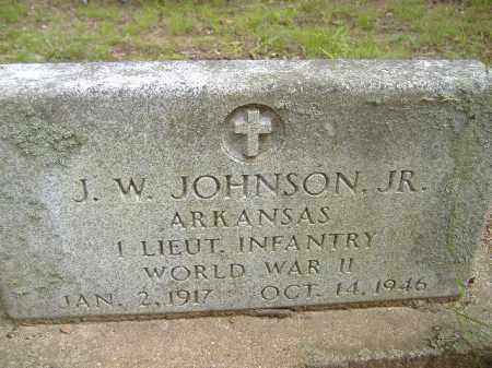 JOHNSON  (VETERAN WWII), JW JR - Poinsett County, Arkansas | JW JR JOHNSON  (VETERAN WWII) - Arkansas Gravestone Photos