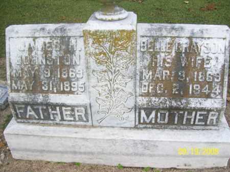 GRAYSON JOHNSTON, BELLE - Poinsett County, Arkansas | BELLE GRAYSON JOHNSTON - Arkansas Gravestone Photos
