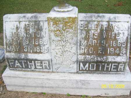 JOHNSTON, JAMES H. - Poinsett County, Arkansas | JAMES H. JOHNSTON - Arkansas Gravestone Photos