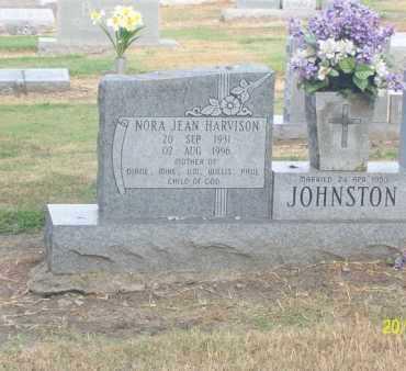 HARVISON JOHNSTON, NORA JEAN - Poinsett County, Arkansas | NORA JEAN HARVISON JOHNSTON - Arkansas Gravestone Photos