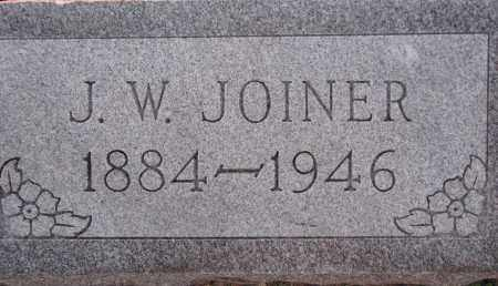 JOINER, J. W. - Poinsett County, Arkansas | J. W. JOINER - Arkansas Gravestone Photos