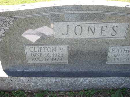 JONES, CLIFTON V. - Poinsett County, Arkansas | CLIFTON V. JONES - Arkansas Gravestone Photos