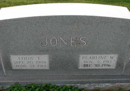 JONES, EDDIE T. - Poinsett County, Arkansas | EDDIE T. JONES - Arkansas Gravestone Photos