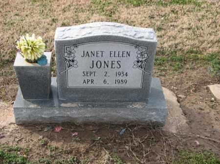 JONES, JANET ELLEN - Poinsett County, Arkansas | JANET ELLEN JONES - Arkansas Gravestone Photos