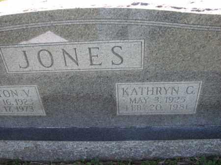 JONES, KATHRYN C. - Poinsett County, Arkansas | KATHRYN C. JONES - Arkansas Gravestone Photos