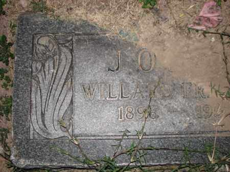 JONES, WILLARD FRANCES - Poinsett County, Arkansas | WILLARD FRANCES JONES - Arkansas Gravestone Photos