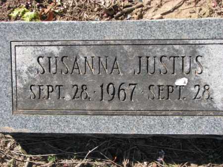JUSTUS, SUSANNA - Poinsett County, Arkansas   SUSANNA JUSTUS - Arkansas Gravestone Photos