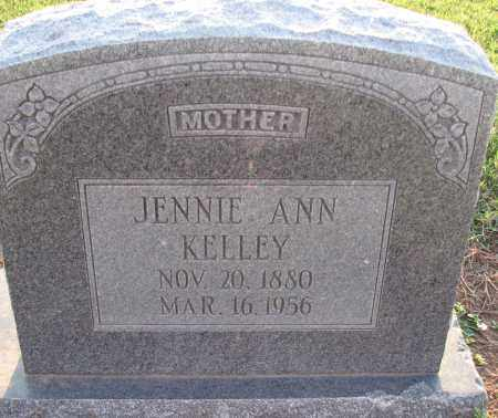 KELLEY, JENNIE - Poinsett County, Arkansas | JENNIE KELLEY - Arkansas Gravestone Photos