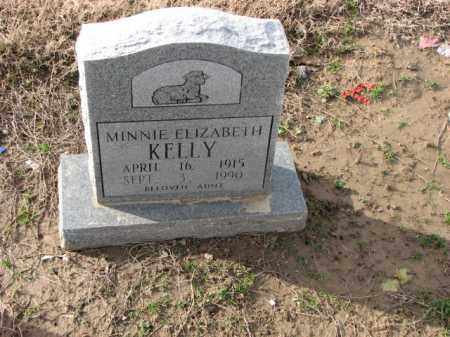 KELLY, MINNIE ELIZABETH - Poinsett County, Arkansas | MINNIE ELIZABETH KELLY - Arkansas Gravestone Photos