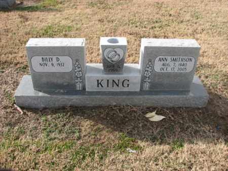 SMITHSON KING, ANN - Poinsett County, Arkansas   ANN SMITHSON KING - Arkansas Gravestone Photos