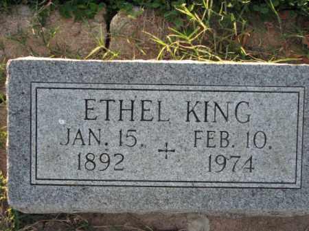 KING, ETHEL - Poinsett County, Arkansas | ETHEL KING - Arkansas Gravestone Photos