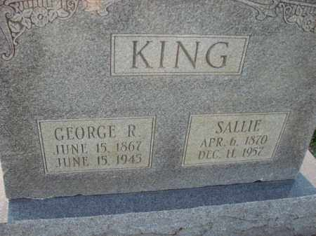 KING, GEORGE R. - Poinsett County, Arkansas | GEORGE R. KING - Arkansas Gravestone Photos