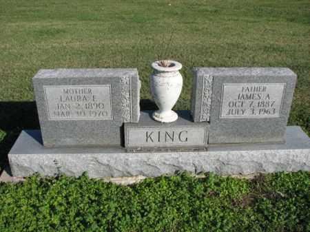 KING, JAMES A. - Poinsett County, Arkansas   JAMES A. KING - Arkansas Gravestone Photos