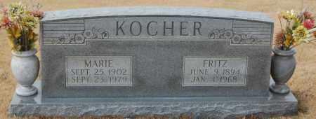 KOCHER, MARIE - Poinsett County, Arkansas | MARIE KOCHER - Arkansas Gravestone Photos