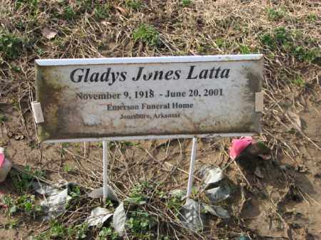 LATTA, GLADYS - Poinsett County, Arkansas | GLADYS LATTA - Arkansas Gravestone Photos