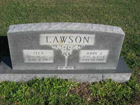 LAWSON, JOHN J. - Poinsett County, Arkansas | JOHN J. LAWSON - Arkansas Gravestone Photos
