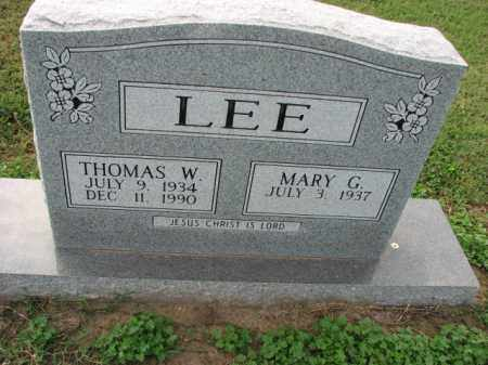 LEE, THOMAS W. - Poinsett County, Arkansas | THOMAS W. LEE - Arkansas Gravestone Photos