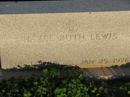 LEWIS, HAZEL RUTH - Poinsett County, Arkansas | HAZEL RUTH LEWIS - Arkansas Gravestone Photos