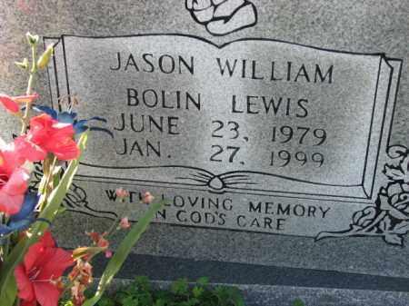 LEWIS, JASON WILLIAM BOLIN - Poinsett County, Arkansas   JASON WILLIAM BOLIN LEWIS - Arkansas Gravestone Photos