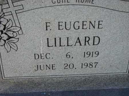 LILLARD, F. EUGENE - Poinsett County, Arkansas   F. EUGENE LILLARD - Arkansas Gravestone Photos