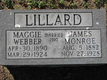 LILLARD, JAMES MONROE - Poinsett County, Arkansas | JAMES MONROE LILLARD - Arkansas Gravestone Photos